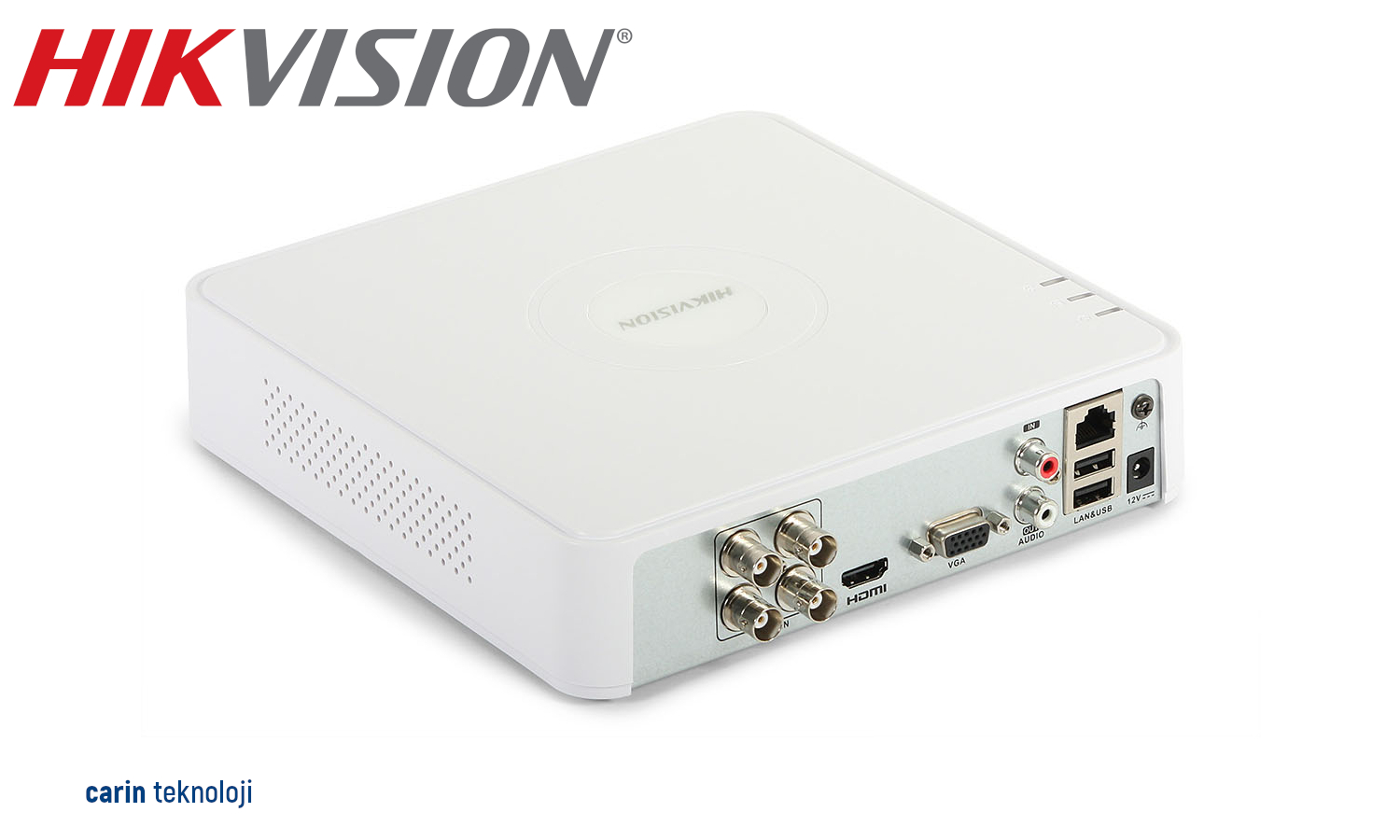 Hikvision DS-7104HGHI-F1 4 Kanal 5 in 1